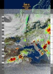 Weather Satellite Images for Masera, Italy
