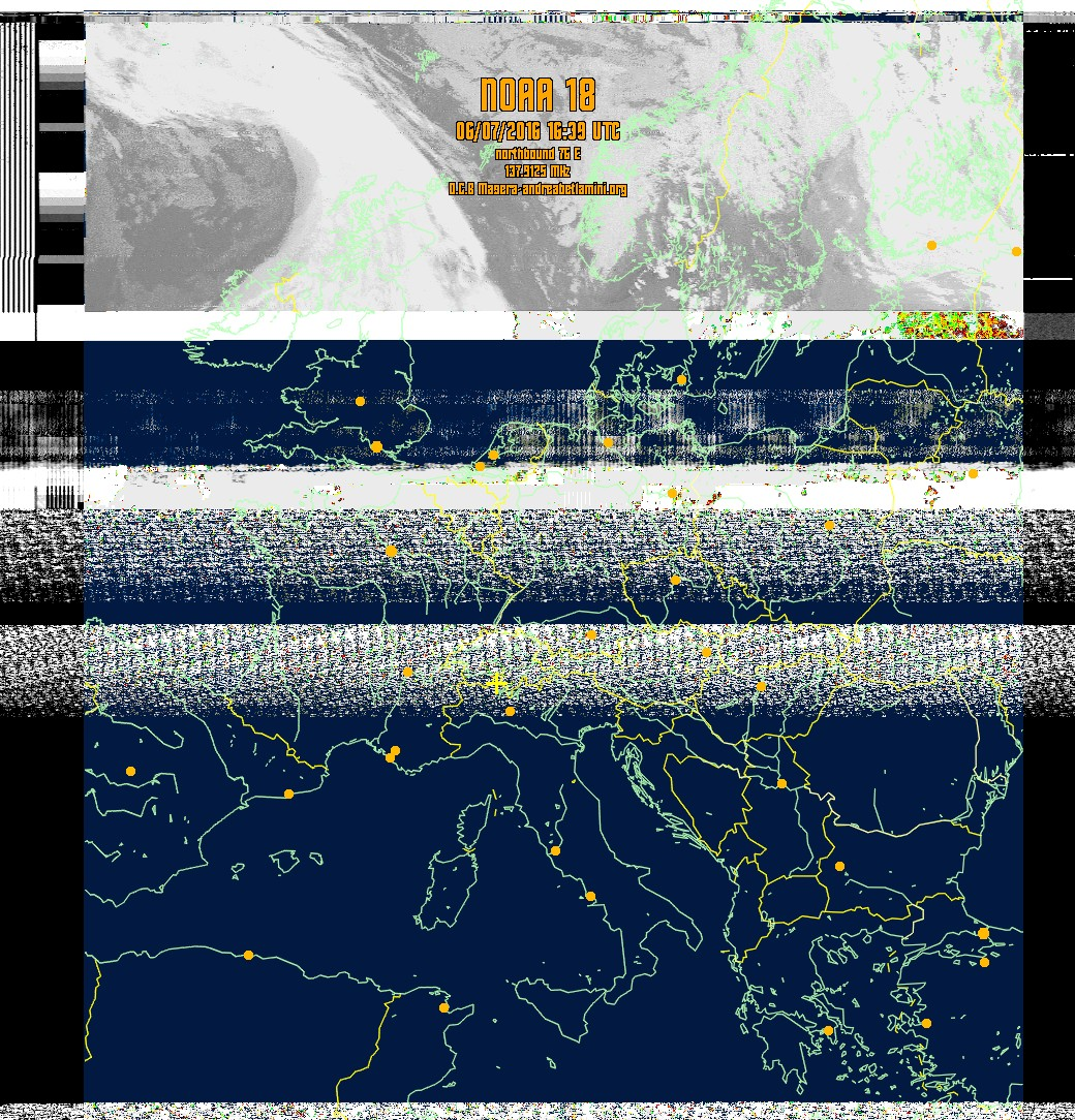 Weather Satellite Images for Masera, Italy