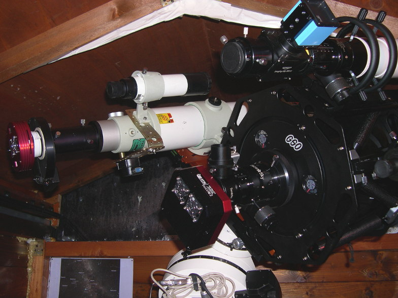 Telecamera ad alta definizione telescopio oculare per Astrofotografia digitale porta USB immagine dinamica manuale